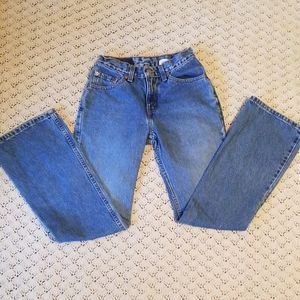 Vintage Levi's 517 Low Rise Boot Cut Jeans